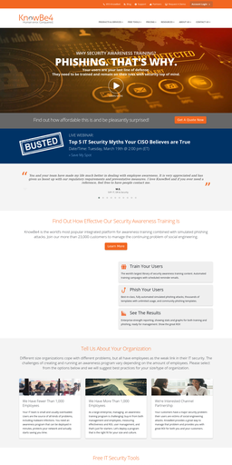 Knowbe4, Inc  Competitors, Reviews, Marketing Contacts, Traffic